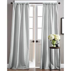 ZIPCODE DESIGN Tayla Curtain Panels (2) Gray 38 84